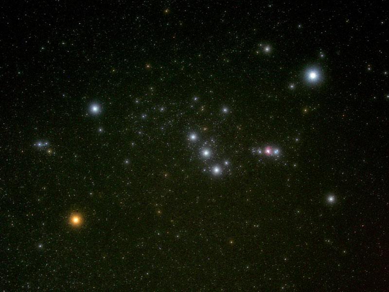 97a08ad64bc Uma constelação fácil de enxergar é Órion